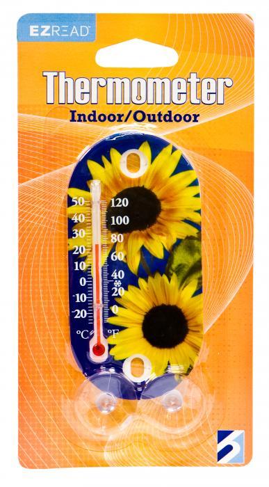 Headwind Sunflowers Garden Thermometer 3.5 inch