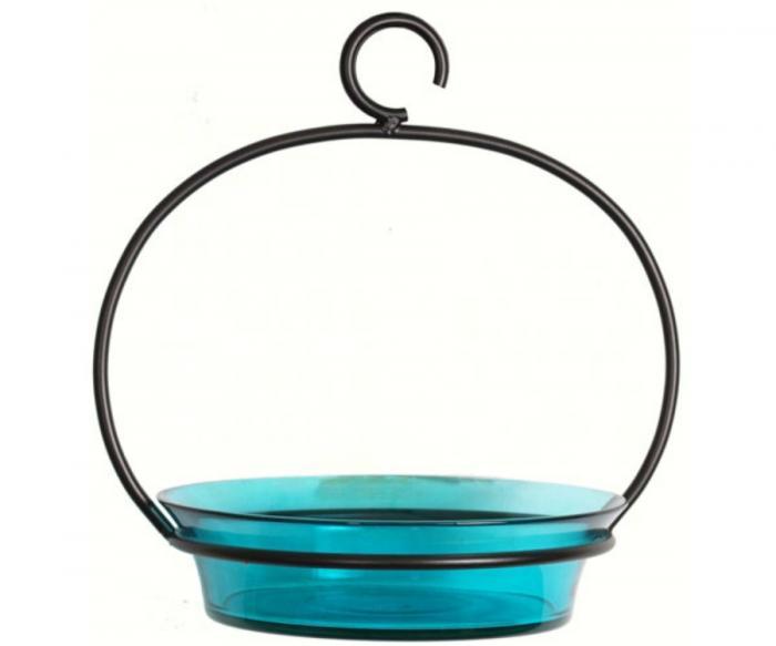 Couronne Company Aqua Cuban Bowl Birdbath
