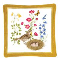 Alice's Cottage Meadowlark Single Mug Mat