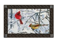 Magnet Works Winter Morning Cardinals MatMate