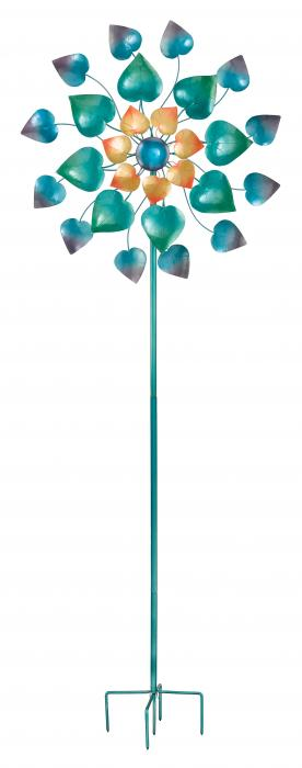 Regal Art & Gift 32 inch Kinetic Stake Maha Rose