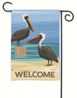 Magnet Works Pelican Cove Garden Flag