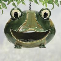Coyne's Company Frog Birdfeeder