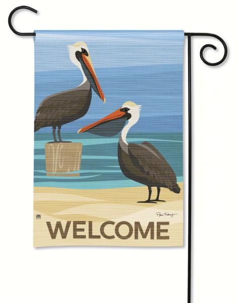 Magnet Works Pelican Cove Garden Flag