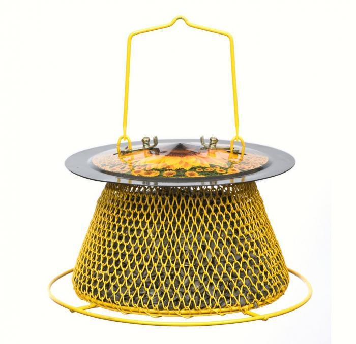 No/No Feeder Designer Sunflower Basket