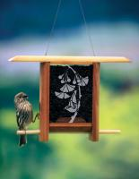 Schrodt Gingko Leaves Teahouse Bird Feeder