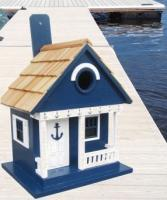 Home Bazaar Anchor Cottage - Navy