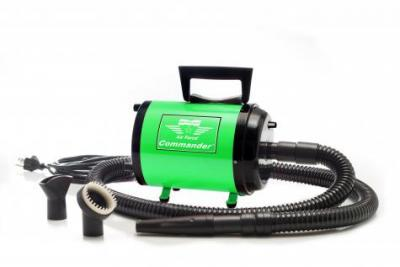 Metro Vac Airforce Commander with Variable Speed Dryer- 4 HP (Green)