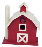 Songbird Essentials Vermont Dairy Barn Birdhouse