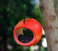 Byer of Maine Mango Fly-Through Bird Feeder - Orange