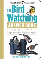 Workman Publishing The Bird Watching Answer Book