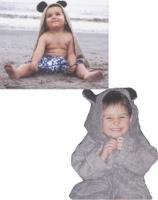 Bear Critter Hooded Towel
