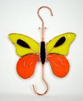 Gift Essentials Orange & Yellow Butterfly Hook