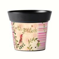 Magnet Works With Gratitude 6 inch Art Pot