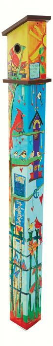 Magnet Works Friends Birdhouse Pole