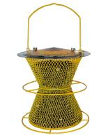 No-No  Designer Sunflower Double Bird Feeder with Perch