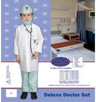 Dress Up America Deluxe Doctor Set - Toddler T4