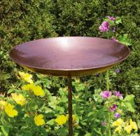 Achla Designs Burnt Copper Bird Bath