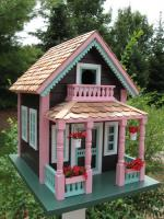 "Home Bazaar Petoskey ""Lake View"" Cottage Birdhouse"