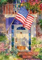 Toland Patriotic Home Garden Flag