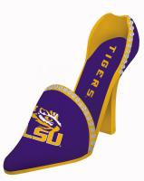 Evergreen Enterprises LSU Shoe Wine Bottle Holder