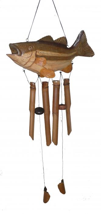 Cohasset Imports Big Mouth Bass WindChime