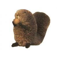 Brushart Squirrel Grey with Nut 5 inch