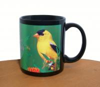 Impact Photographics Mug Black American Goldfinch