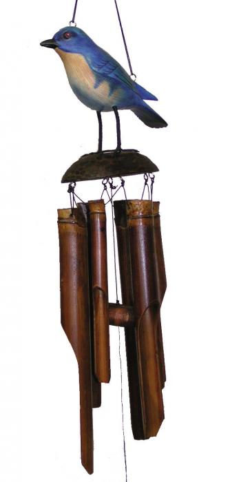 Cohasset Imports Eastern Bluebird Wind Chime