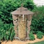 "White hall 12"" Oakleaf Silhouette Feeder - Oil Rub Bronze"