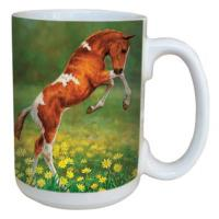 Tree Free Greetings Dances With Daisies Mug 15 oz