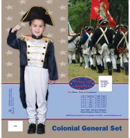 Dress Up America Colonial General Set - Small