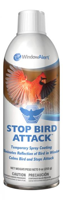 Window Alert Stop Bird Attack Window Spray