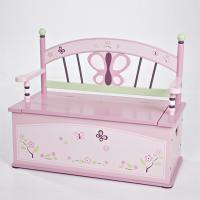 Levels of Discovery CoCaLo Baby Sugar Plum Toy Box Bench