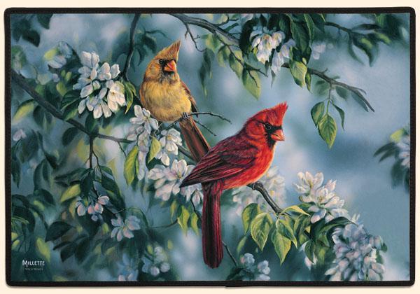Fiddler's Elbow Cardinals Doormat