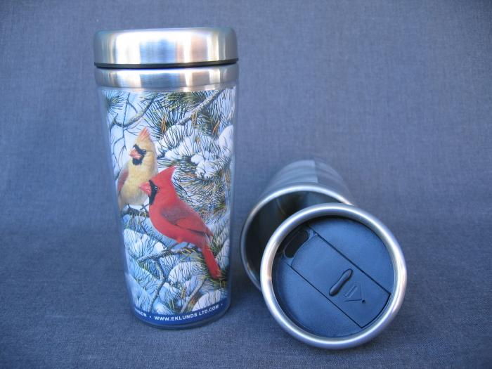 Songbird Essentials Mug, Thermal Fire in the Snow