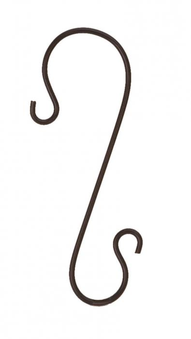 Panacea 12 inch Branch Hook Black