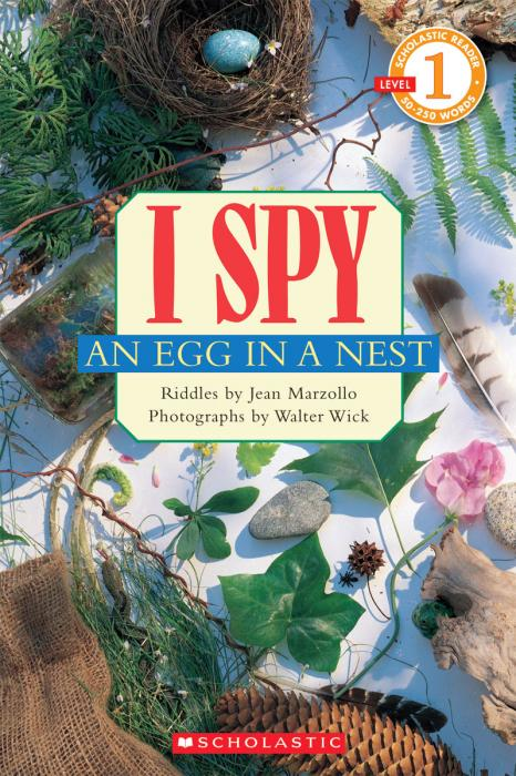 Scholastic Books I Spy an Egg in a Nest