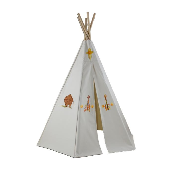 Dexton 6ft Create-My-Own Great Plains Teepee w/ Washable Markers
