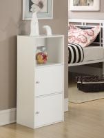 Design2Go XTRA Storage 2 Door Cabinet - Black