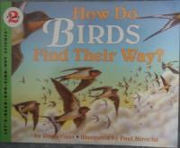 Harper Collins How Do Birds Find Their Way