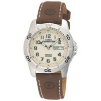 Timex Expedition Mens Traditional Silver/Brown