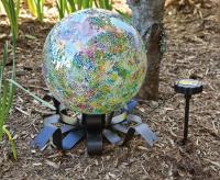 Evergreen Enterprises Solar Gazing Ball Stand