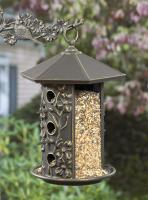 Whitehall Dogwood Bird Feeder - Oil Rub Bronze