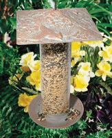 "Whitehall 12"" Cardinal Tube Feeder - Oil Rub Bronze"