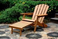 Merry Products Faux Wood Adirondack Chair