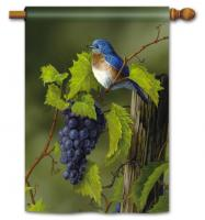 Magnet Works Vineyard Bluebird Standard Flag