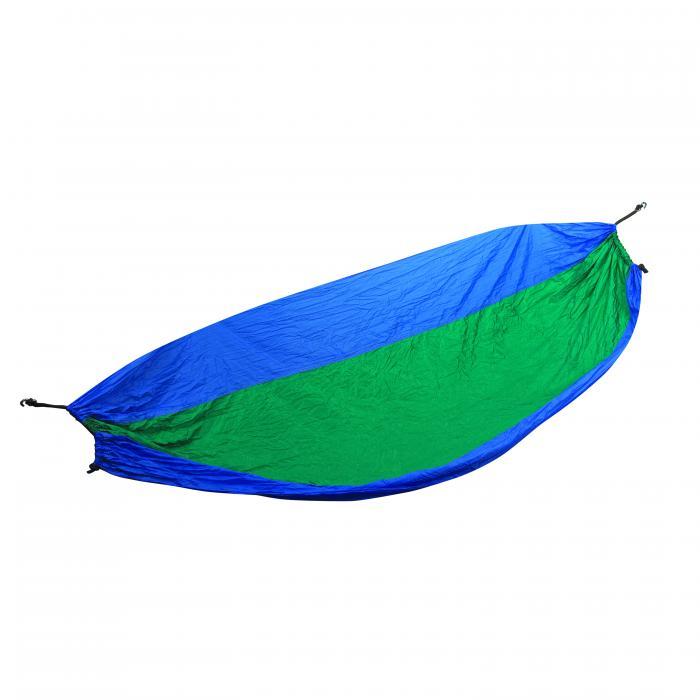 Stansport Newport Packable Parachute Nylon Hammock - Blue