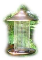 Woodlink Audubon Series Coppertop Sunflower Tube Bird Feeder