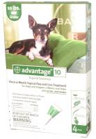 Advantage Dog Once-a-Month Flea and Lice Treatment - 1-10 lb. Dogs